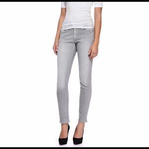 FRAME DENIM Le Garçon Crop Slim Jeans Kensington